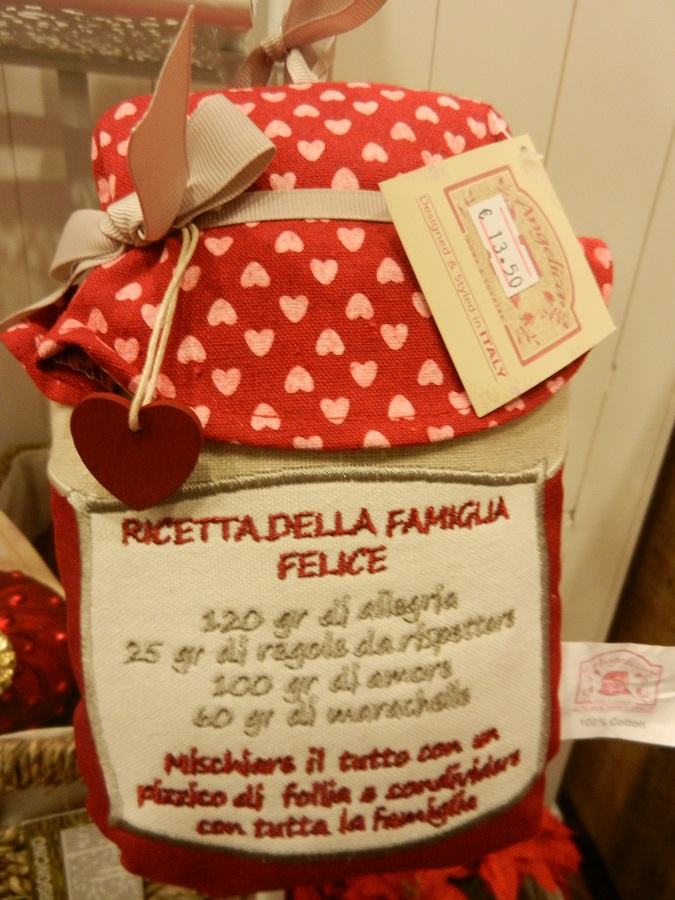 Cuscini con dedica dell'Angelica Home&Country
