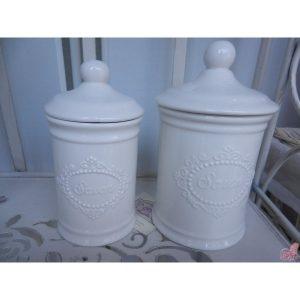 barattolo ceramica savon basso