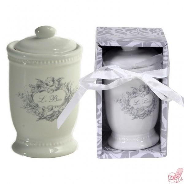 Accessori Bagno Le Bain.Barattolo In Ceramica Le Bain Cestenolvetri