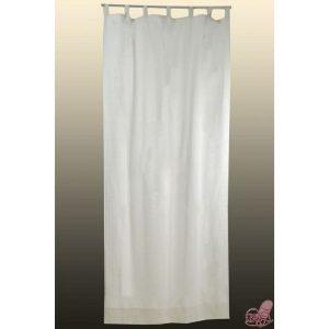 tenda in cotone colore crema mis cm