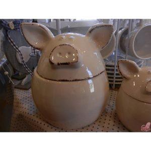 barattolo piggy in ceramica piccolo