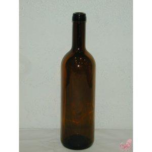 bottiglia bordolese marrone  lt
