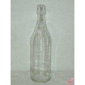bottiglia costolata da  lt bianca