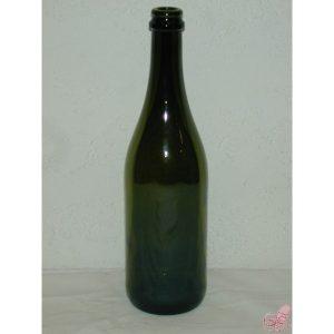 bottiglia emiliana vetro verde  lt