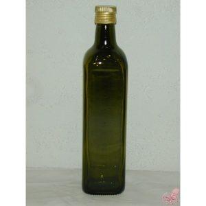 bottiglia olio  lt con tappo a vite e dosatore