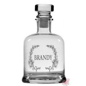 bottiglia vetro per brandy