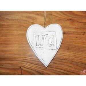 cuore legno da appendere wc