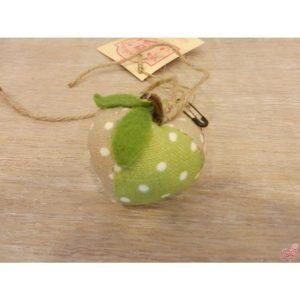 decorazione mela da appendere