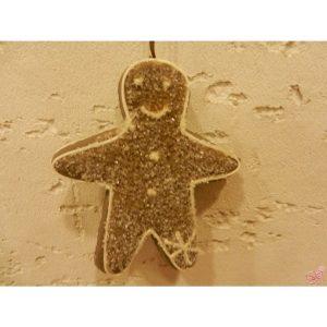 decorazione pino da appendere in plastica con glitter