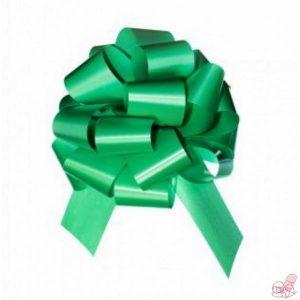 fiocco verde opaco largo