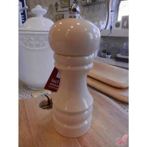 macina pepe in legno crema