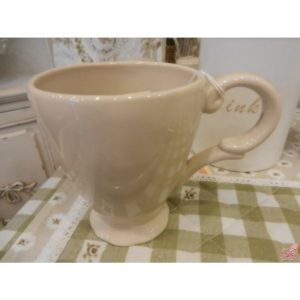 mug in ceramica beige