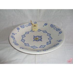 piatto ceramica tondo