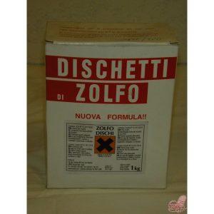 scatola da  kg dischetti zolfo