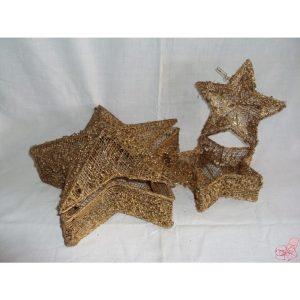 set  scatole stella oro