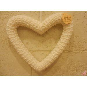 stella in lana a maglia da appendere