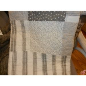 trapuntino patchwork grey