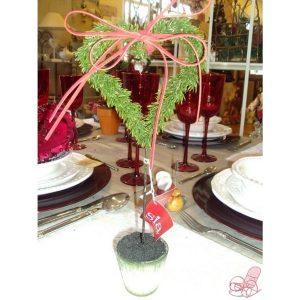 vaso con decorazione cuore