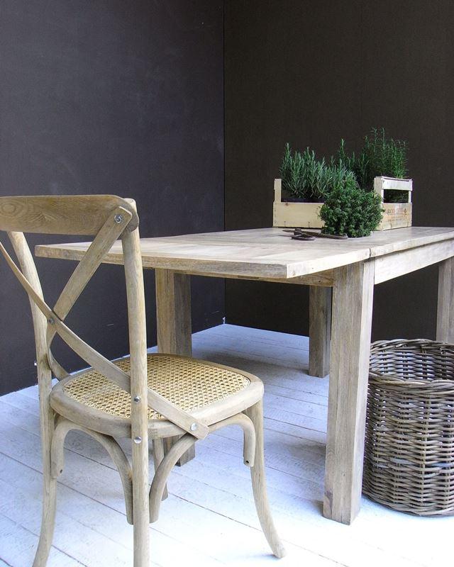 Tavolo in legno di Mango massello allungabile